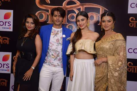 Celebs at Launch of Color TV's new show 'Naagin' Season 2