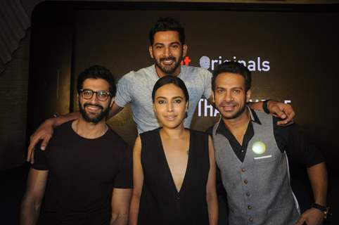 Celebs at Press meet of Swara Bhaskar's web show 'Its Not That Simple'