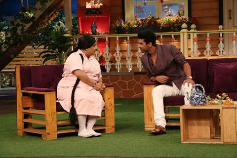 Kushal Tandon visit on the sets of 'The Kapil Sharma Show'