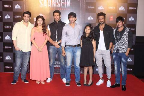 Celebs at Trailer Launch of film 'Saasein'