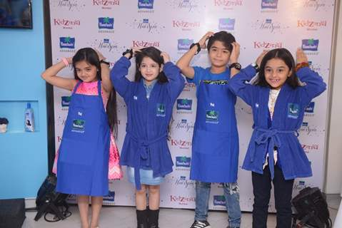 Celebs at Launch of Parachute Advansed Hair Spa at KidZania Mumbai