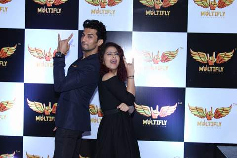 Avika Gor at Launch of Manish Raisinghan & Udayan Shah's 'Multifly'