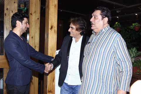 Raza Murad at Launch of Manish Raisinghan & Udayan Shah's 'Multifly'