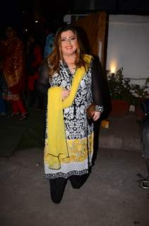 Delnaz Irani at Kishwer Merchant and Suyyash Rai's Sangeet Ceremony