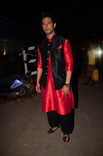 Sehban Azim at Kishwer Merchant and Suyyash Rai's Sangeet Ceremony