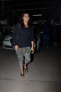 Zoya Akhtar at Special Screening of 'Raees'