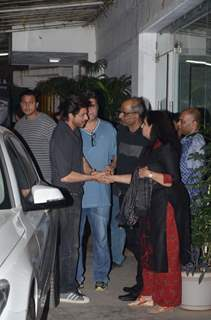 Shah Rukh Khan at Special Screening of 'Raees'