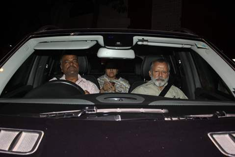 Pankaj Kapoor and Supriya Pathak snapped in Bandra