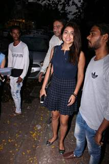 Shriya Saran snapped in Mumbai
