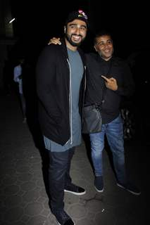 Arjun Kapoor and Chetan Bhagat at Mohit Suri's Bash!!