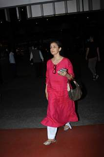 Manisha Koirala snapped at the airport!