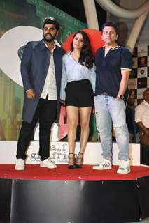 Shraddha Kapoor, Arjun Kapoor and Mohit Suri at Half Girlfriend's Concert!