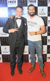 Swaraaj Kapoor with Randeep Hooda at Mirabella Talent's Event!