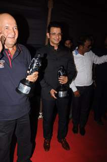 Sharman Joshi and Prem Chopra felicitated at Dadasaheb Phalke Awards