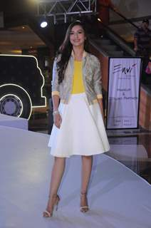 Gauahar Khan snapped at an event