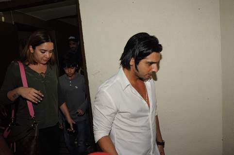 Zayed Khan snapped at PVR, Juhu
