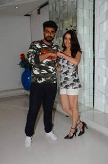 Arjun Kapoor and Shraddha Kapoor Promotes 'Half Girlfriend'