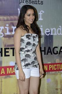 Shraddha Kapoor Promotes 'Half Girlfriend'