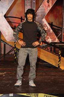 Shantanu Maheshwari at the launch of Khatron Ke Khiladi: Pain in Spain