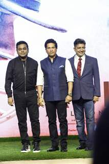Launch of Sachin Anthem of film 'Sachin: A Billion Dreams'