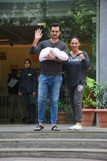 Esha Deol with her Baby Girl