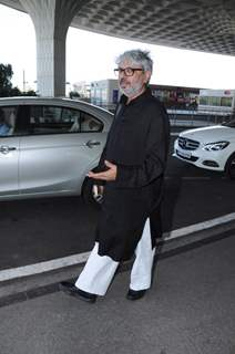 Sanjay Leela Bhansali at the Airport