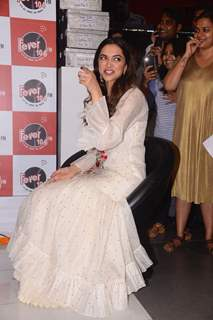 Deepika's candid reaction