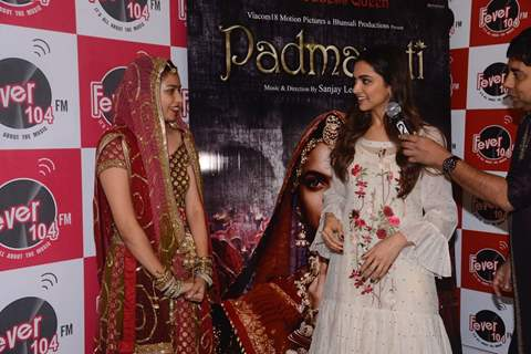 Deepika Padukone at Padmavati promotions