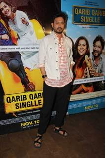 Irrfan Khan posing for the camera