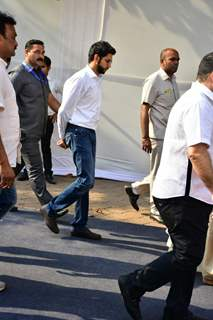 Aditya Thackeray also arrives