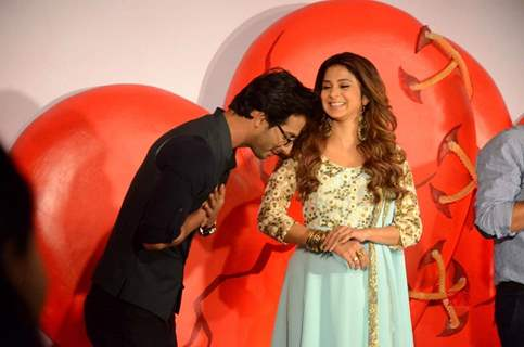 Jennifer Winget and Sehban Azim