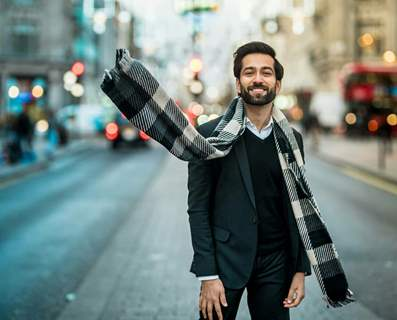 Nakuul Mehta London Trip Pic