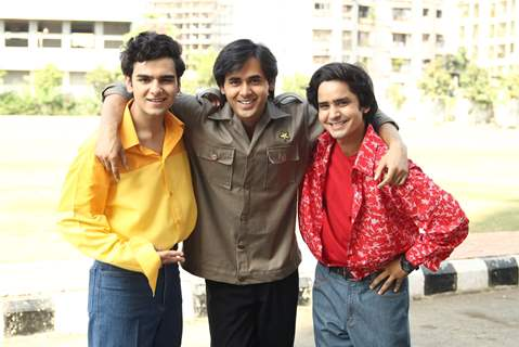 Sameer along with Munna Pandit from Yeh Un Dinon Ki Baat Hai
