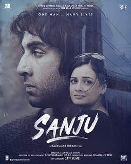 Sanju Movie Poster: Dia Mirza as wife Manyata Dutta