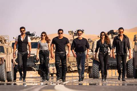 Race 3 movie still