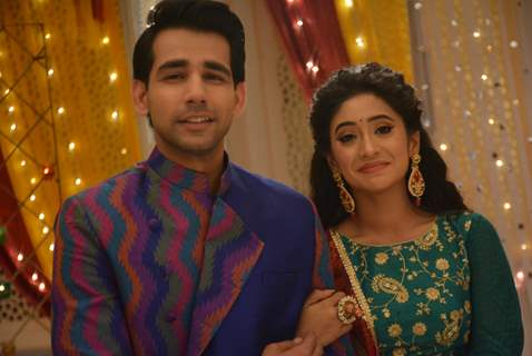 Naksh and Naira at Teej celebration on Yeh Rishta Kya Kehlata Hai