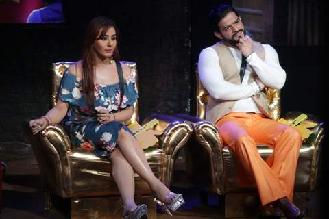 Day 2: Shilpa Shinde and Karan Patel as moderators in Bigg Boss 12
