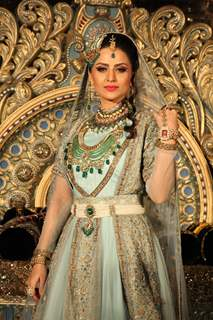 Parvati Sehgal as Salima at the launch of COLORS' Dastaan-E-Mohobbat Salim Anarkali