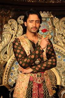 Shaheer Sheikh as Salim at the launch of COLORS'Dastaan-E-Mohobbat Salim Anarkali