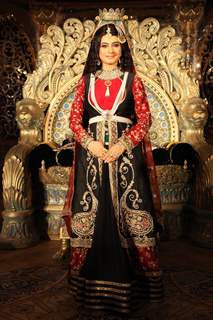 Tasneem Sheikh as Rukaiyya at the launch of COLORS' Dastaan-E-Mohobbat Salim Anarkali.