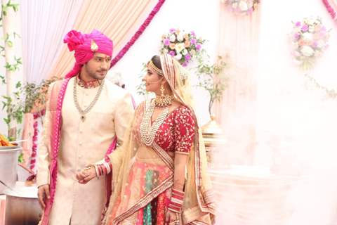 Wedding Pictures of Samar and Jaya from Main Maayke Chali Jaungi Tum Dekhte Rahiyo
