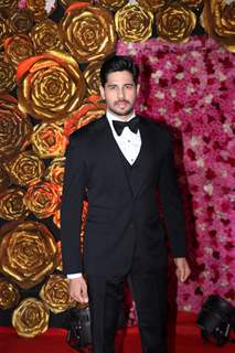 Sidharth Malhotra spotted at Lux Golden Rose Awards