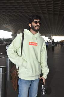 Harshvardhan Kapoor Spotted at airport