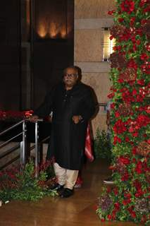 Saurabh Shukla at Ranveer Deepika Wedding Reception Mumbai