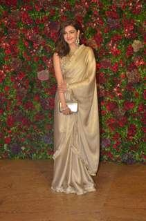 Kajal Aggarwal at Ranveer Deepika Wedding Reception Mumbai