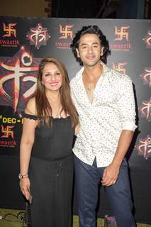 Munisha Khatwani and Sashank Vyas at Siddharth Kumar Tewary show Tantra Launch Party