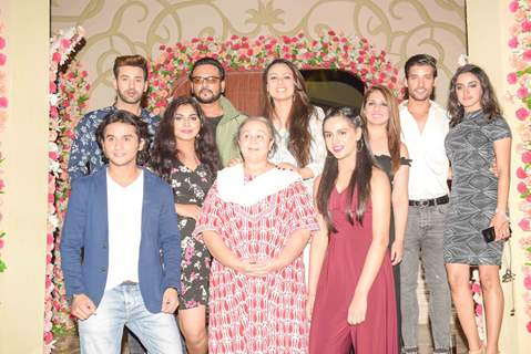 Sargun Kaur, Gautam Vig, Munisha Khatwani, Gauri Tonk and Farida Dadi at Tantra show Launch Party