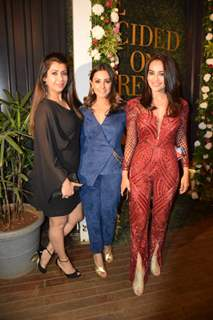 Anita Hassanandani, Ankita Bhargava and Surbhi Jyoti at Additi Gupta and Kabir Chopra cocktail Party