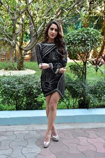 Sara Ali Khan at the sets of Indian Idol 10