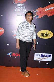 Dilip Joshi at Nickelodeon Kids Choice Awards 2018